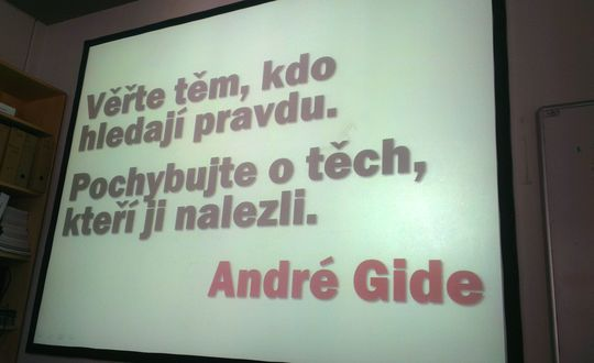 André Gide quote